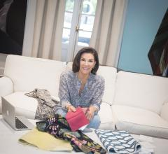 Hilary Farr Sky Home bedding collection