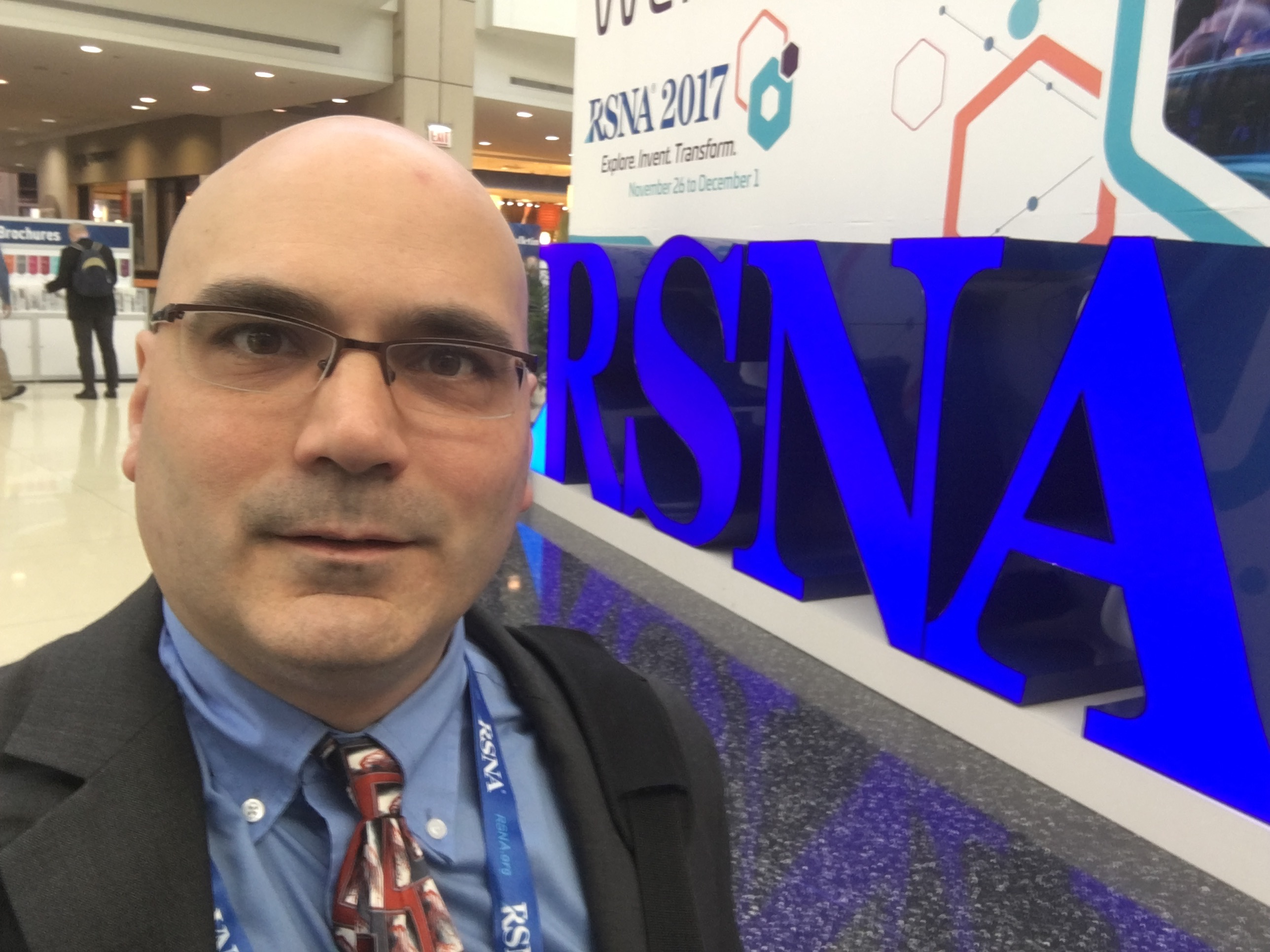 Dave Fornell, ITN Editor at RSNA