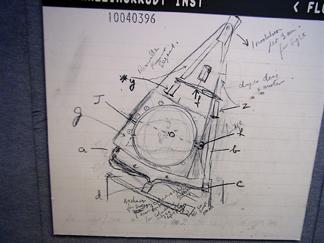 Sketch of original Houndsfield CT scanner.
