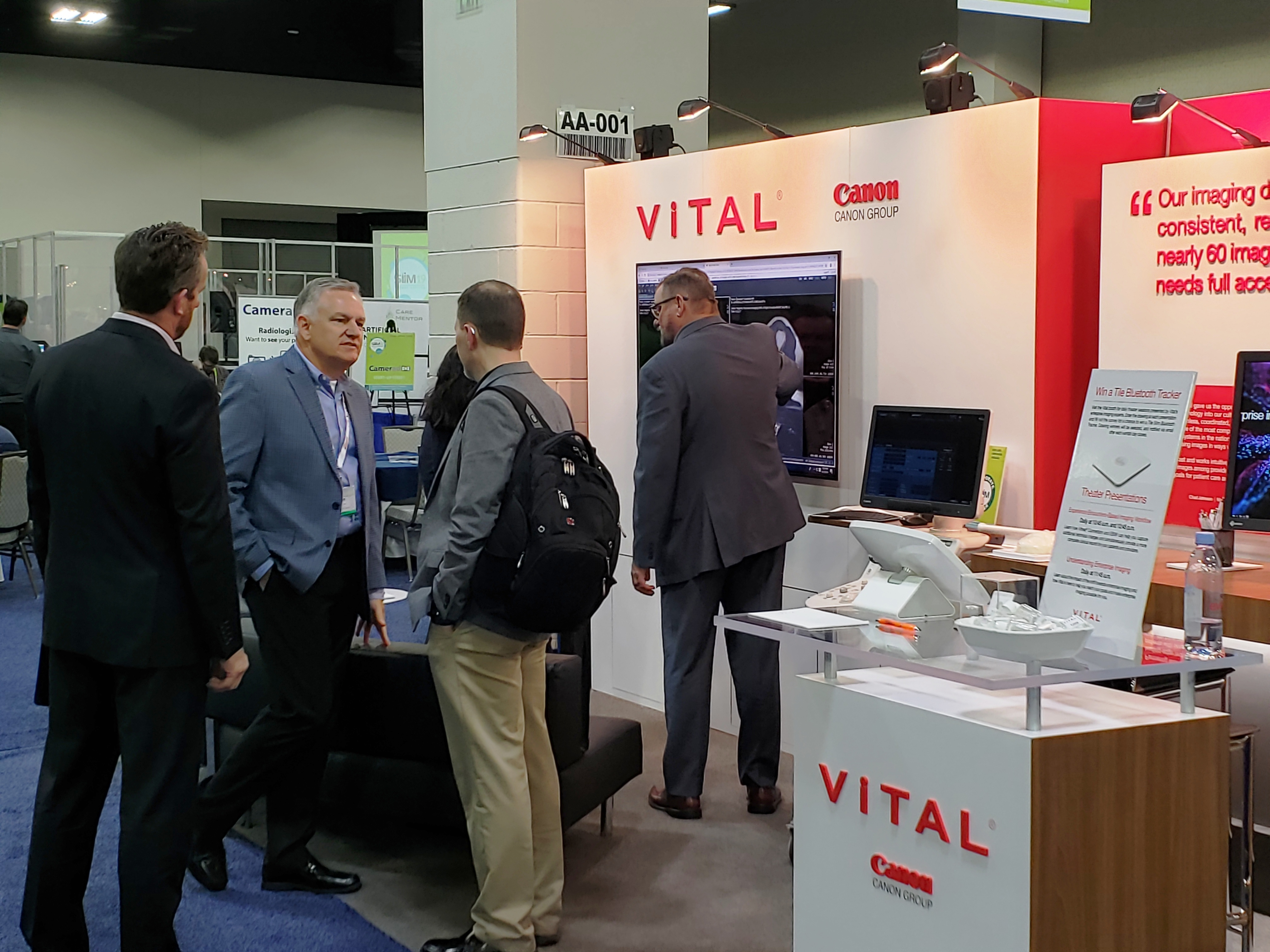 Vital Images features optical camera as important part of enterprise imaging.