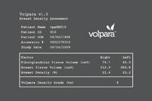 breast density, Volpara, volumetric breast density assessment
