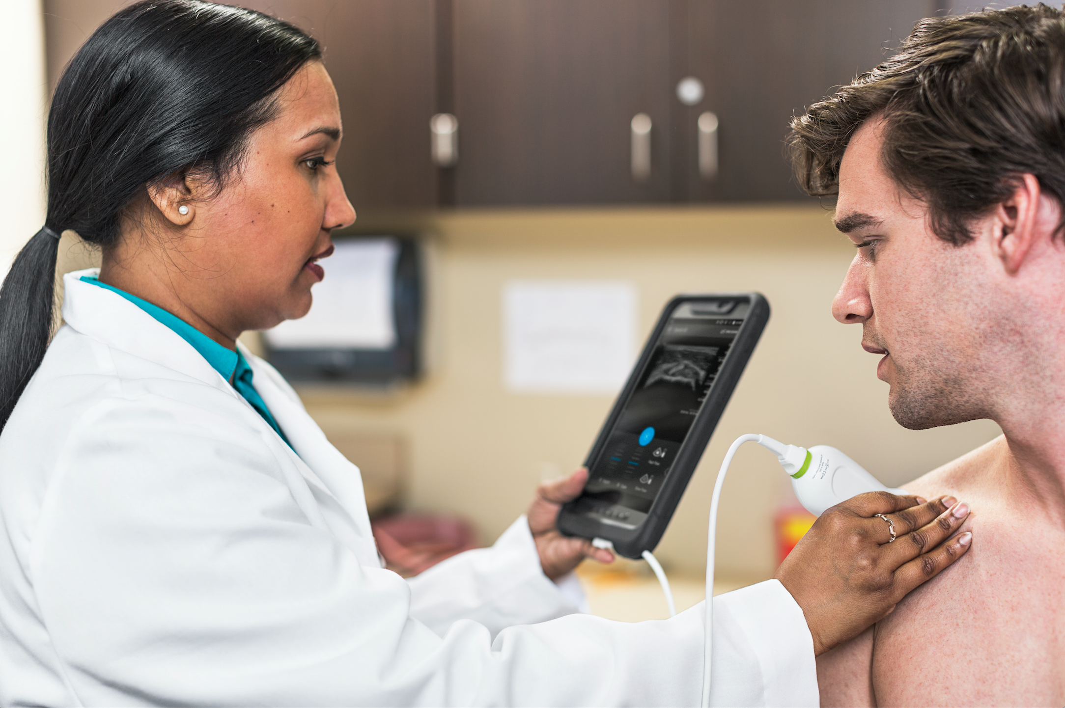 The Philips Lumify system introduces the concept of app-based-ultrasound. It turns an Android mobile device into diagnostic ultrasound system using a linear or a phased array transducer that plugs into an Android phone or tablet micro USB port.