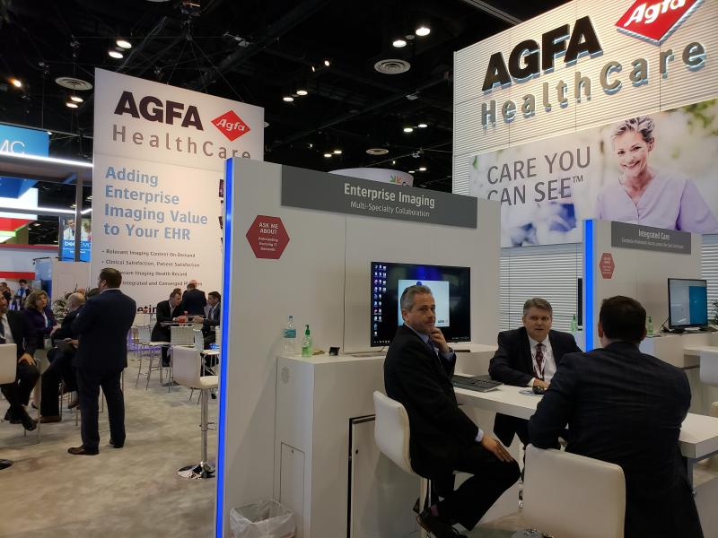 Agfa HealthCare promotes enterprise imaging at HIMSS19