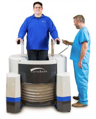 FDA Clears CurveBeam LineUp Weight-Bearing Multi-Extremity CT System