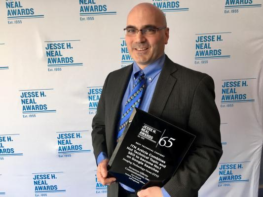 ITN Wins Jesse H. Neal Award for Best Technical Content