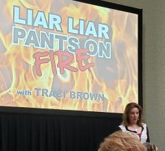 Body language expert Traci Brown spoke at the AHRA 2019 meeting on how to identify when a person is not being honest by their body language. She said medical imaging department administrators can use this knowledge to help in hiring decisions and managing staff.