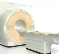 The Philips Ingenia MRI system. The vendor offers MRI software packages for MRI image analysis.