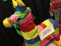 MD Anderson had a San Antonio Fiesta themed booth and photo booth with props for attendees to remember their visit to the AAPM meeting in San Antonio.