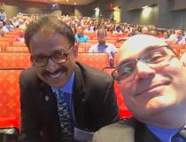 ITN Editor Dave Fornell ran into Mahadevappa Mahesh, Ph.D., FAAPM, FACR, FACMP, FSCCT, professor of radiology and cardiology and chief physicist at Johns Hopkins, at the 2019 American Association of Physicists in Medicine (AAPM) meeting. He also serves as treasurer for the AAPM.