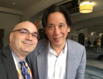 Congenital heart cardiologist and artificial intelligence (AI) expert Anthony Chang, MD, took time out at HIMSS 2019 to meet with DAIC Editor Dave Fornell. Chang spoke today at the day-long AI symposium. He is the chief intelligence and innovation officer and medical director of the Sharon Disney Lund Medical intelligence and Innovation Institute in Orlando, Fla.  He did a video interview on how Cardiology is the ideal subspecialty for AI applications. Areas include use in automated diagnostics of complex i