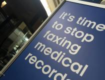 In today's healthcare environment, medical records should not be faxed in this digital age. That was a key message at HIMSS 2019.