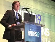 Radiologist Cree Gaskin, M.D., University of Virginia, explained in sessions how new enterpise imaging software allows key images and links to prior exams to be embedded into radiology reports.