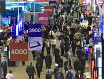 This is the main aisle at the massive Healthcare Information Management and Systems Society (HIMSS) 2019 conference, which drew more than 45,000 attendees this week. It shows one side of the conference which had booths numbering into the 9,000s and more than 1,300 vendors. HIMSS has become one of the most influential healthcare conferences in the past decade because of the key role health IT systems play.