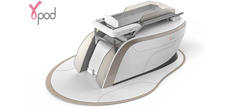 GammaPod designed to deliver targeted radiation to a portion of the breast in conjunction with breast conserving treatment