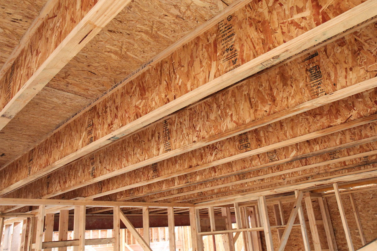 Inside View demo home floor system (Photo: Beechen & Dill)