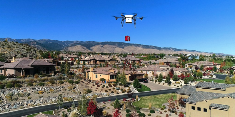 Home builders have potential to be disruptors, like Amazon drone delivery disrupting retail