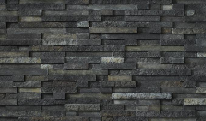 Available in Arctic, Ethos, Trek (shown), and Arcadia shades, Pro-Fit Terrain Ledgestone veneer, a new line from Cultured Stone, blends textures and relief patterns to provide contemporary design profiles. The collection is National Green Building Standard certified and does not require painting, coating, or sealing once it is installed. The line is manufactured with an average of 58 percent recycled content and includes a 50-year limited warranty.