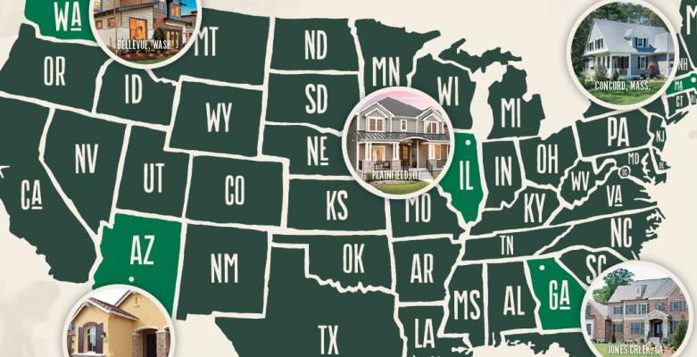 Regional builders_2018_local builders in Atlanta-Boston-Chicago-Phoenix-Seattle