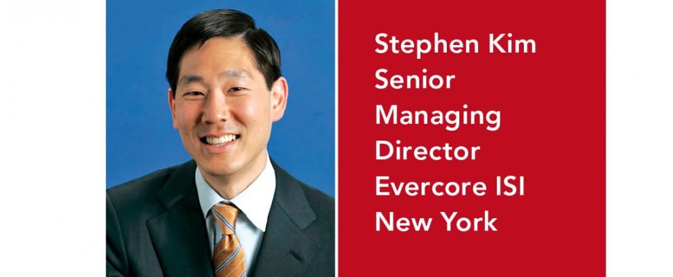 Executive Corner_Stephen Kim_Evercore ISI