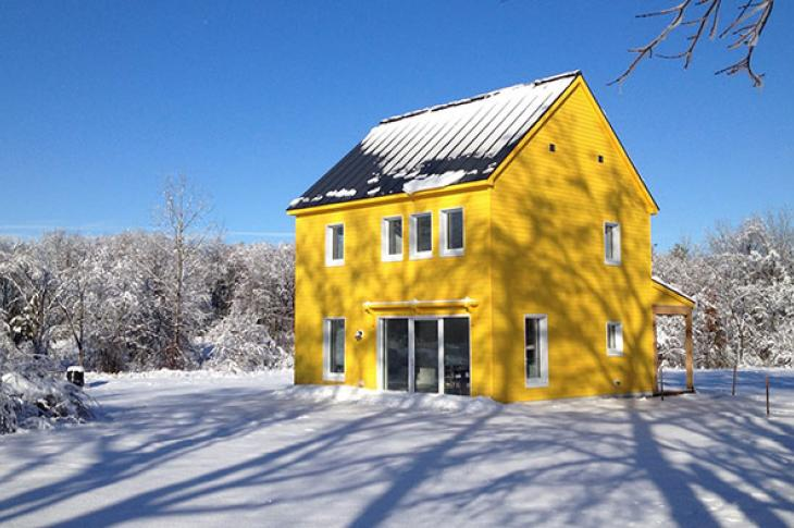 Professor Alexi Arango's passive house