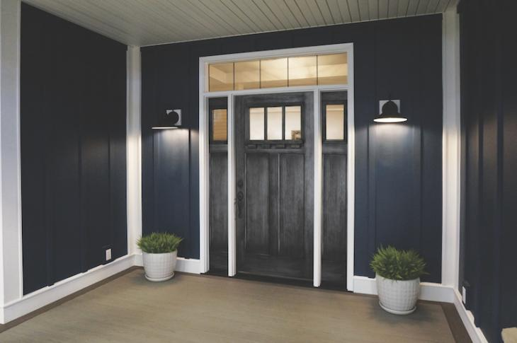 ProVia has launched Glazed Finishes (Signet in Dutch Gray, shown).