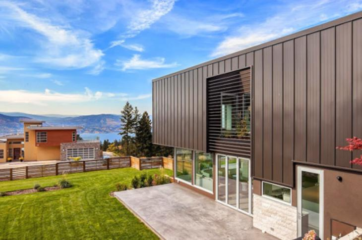 Built with a proprietary steel core, Karoleena's homes in Okanagan falls, B.C., are extremely strong.