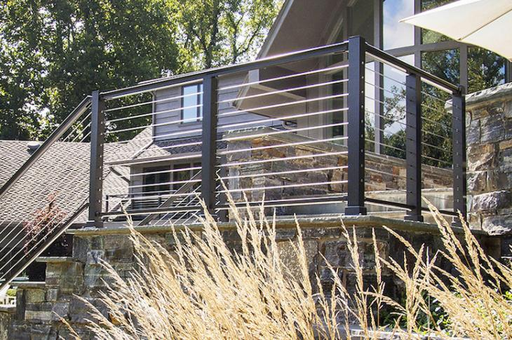 Superior Aluminum Products' Series 2000 cable railing system