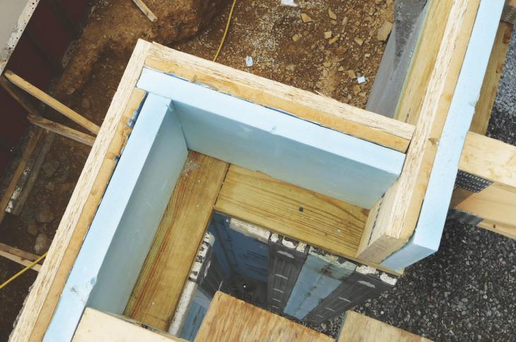 New wall systems like this one are making it easier than ever to frame homes for greater energy efficiency.