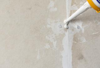 caulking can be a messy job for remodelers