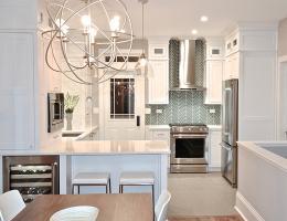 a kitchen designed by Danielle Burger