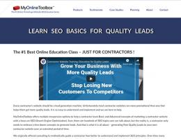a marketing and seo tool built for remodeling contractors
