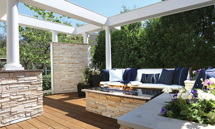 outdoor living spaces are becoming increasingly popular in remodeling