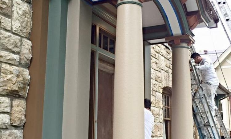 Neighborhood Painting Roanoke Archway