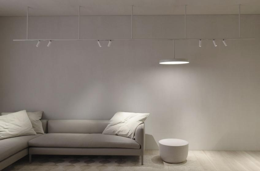FLOS Architectural Lighting Infra-Structure with smart controls