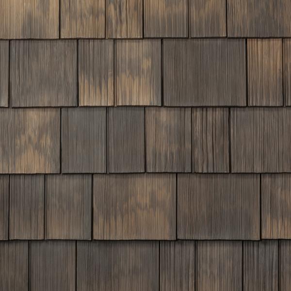 4 DAVINCI Roofscapes Hand Split Siding Aged Cedar siding