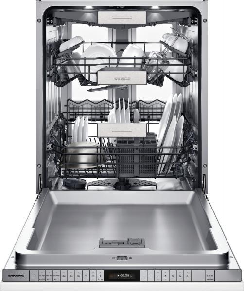 5 Gaggenau 400 series dishwasher with zeolite