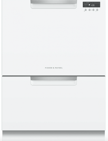 6 Fisher & Paykel dish drawer White