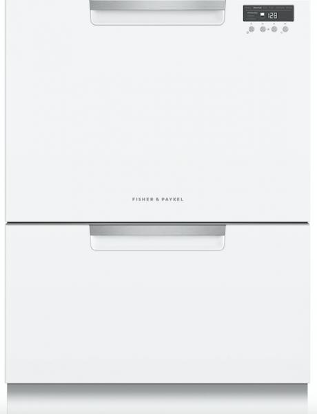6 Fisher & Paykel dish drawer White