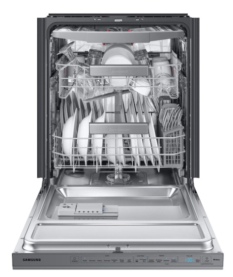 8 Samsung Linear Wash dishwasher