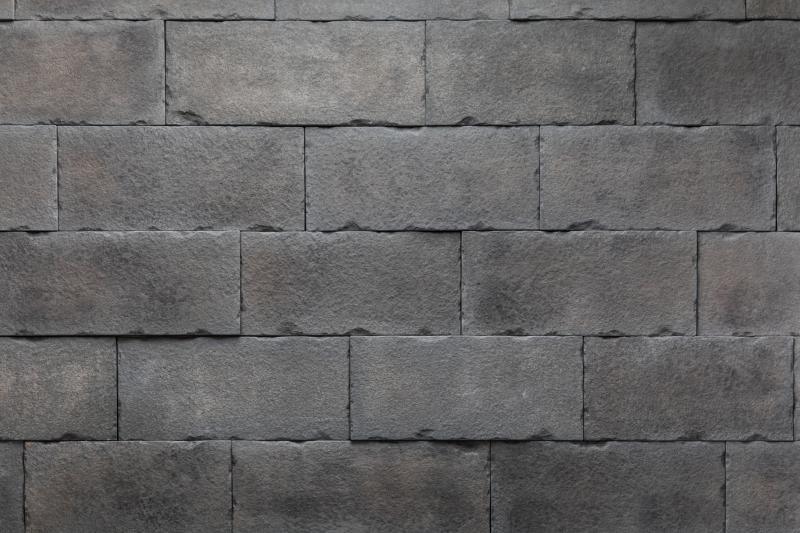 8 Versetta Stone cladding Carved Block Midnight
