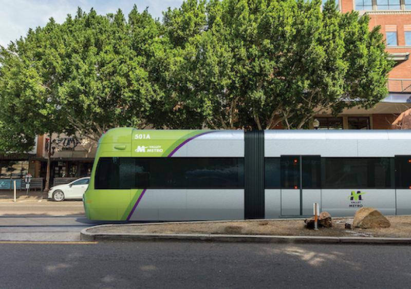 Valley Metro's light-rail transit Arizona