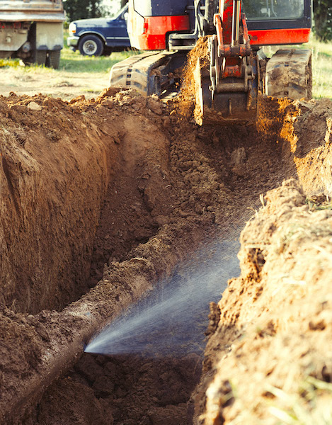 The two methods of condition assessment for buried water mains—indirect and direct—are used to determine a pipe's condition. Assessments should begin with indirect assessment because direct assessment can be costly and time consuming to complete.