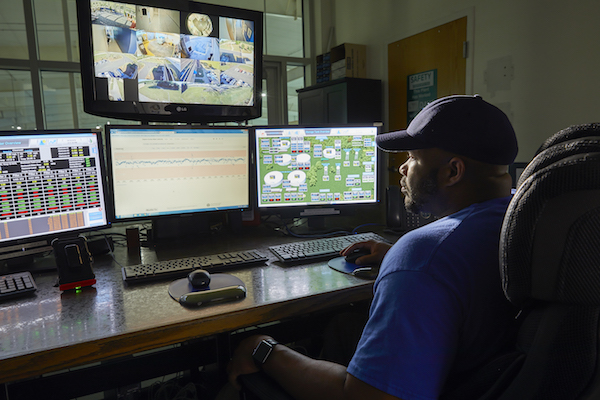 Today, water utilities are able to monitor their entire distribution system from the comforts of their own control rooms