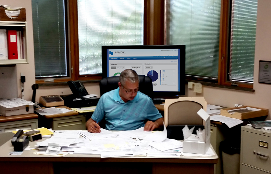 Tony Lorenzo, utilities superintendent for the city of Avon