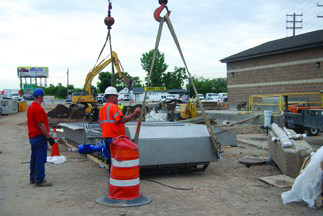 Bar Screen Helps Township Weather Storm Water