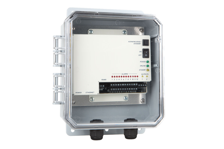 One system monitors up to 12 different status conditions
