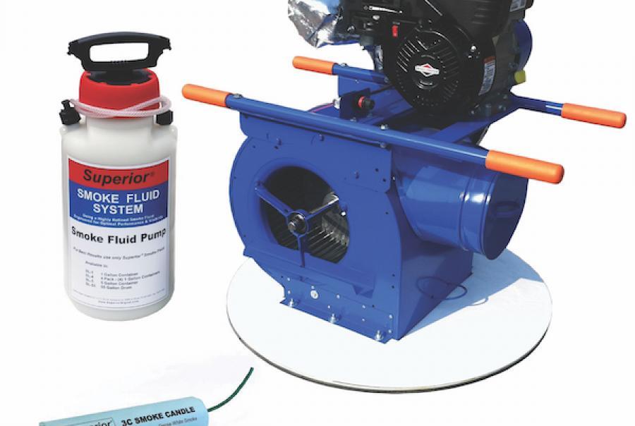 Smoke Generators for Leak Detection
