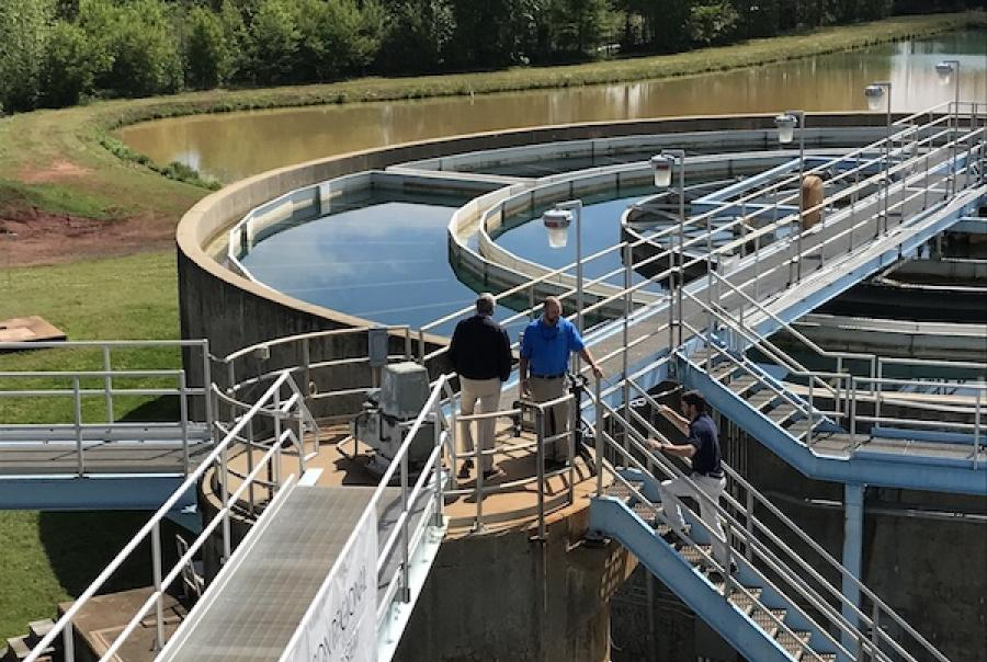 Advanced oxidation treatment system eliminates taste & odor issues in drinking water