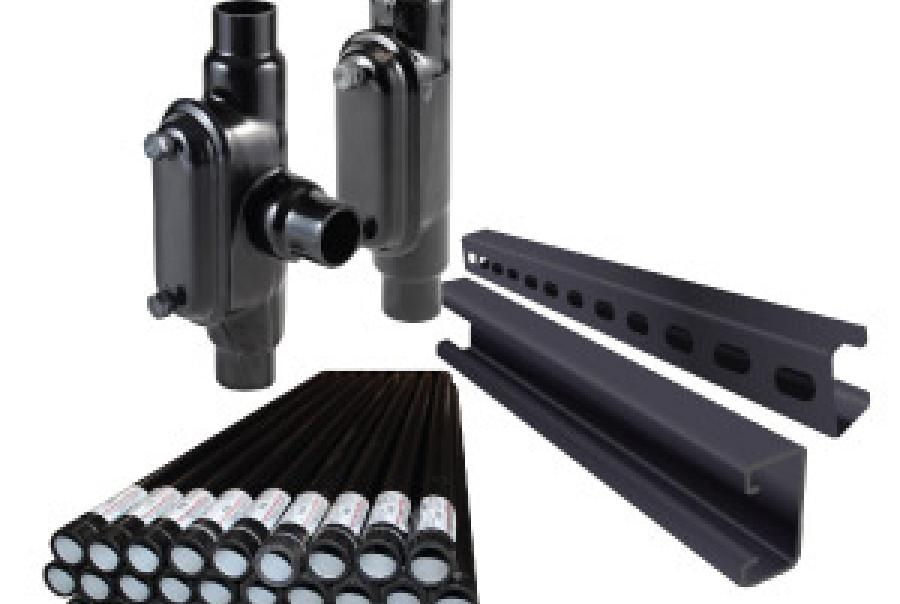 PVC Coated Conduit & Fittings Protect Against Corrosion