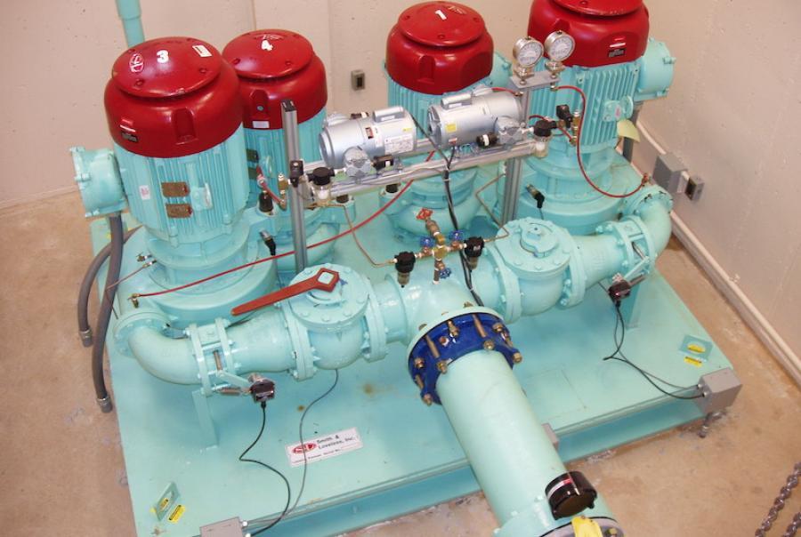 Smith & Loveless Inc. series pump unit.